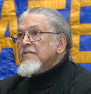 Poet Dennis Brutus