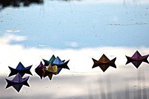 making origamis